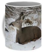 A Bed Of Snow Coffee Mug