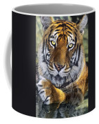 A Bengal Tiger Portrait Endangered Species Wildlife Rescue Coffee Mug