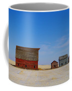 A Big Barn And Three Small Ones Coffee Mug