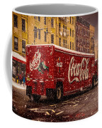 A Big Red Truck In The Barrio Coffee Mug
