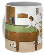 A Billiards Match Coffee Mug