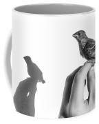 A Bird On The Hand Coffee Mug