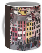 A Bird's Eye View Of Cinque Terre Coffee Mug