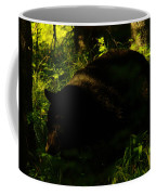 A Black Bear Coffee Mug