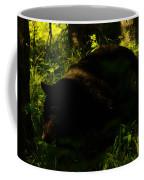 A Black Bear Coffee Mug