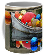 A Boat Full Of Color Coffee Mug