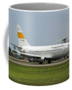 A Boeing 737-200 Of The Indonesian Air Coffee Mug