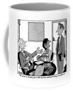 A Boss Addresses One Of His Employees Coffee Mug