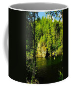 A Boulder Across The Seleway River  Coffee Mug