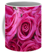 A Bouquet Of Pink Roses Coffee Mug