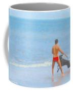 A Boy And His Dog 2 Coffee Mug
