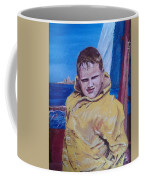 A Boy On A Boat Coffee Mug by Jack Skinner