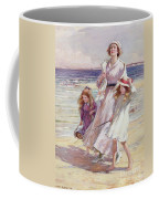A Breezy Day At The Seaside Coffee Mug