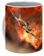 A British Supermarine Spitfire Bursting Coffee Mug