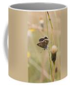 A Brown Argus On Stem Coffee Mug