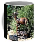 A Buck And His Doe Coffee Mug