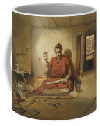A Buddhist Monk, From India Ancient Coffee Mug