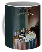 A Buffet Table At A Party Coffee Mug