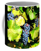 A Bunch Of Grapes Coffee Mug by Kay Gilley
