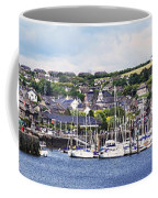 A Busy Harbour And Waterfrontkinsale Coffee Mug
