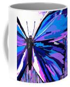 A Butterfly So Blue Coffee Mug
