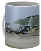 A C-17 Globemaster IIi Of The U.s. Air Coffee Mug
