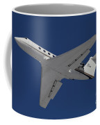 A C-20 Gulfstream Jet In Flight Coffee Mug