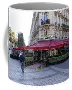A Cafe On The Champs Elysees In Paris France Coffee Mug