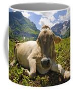 A Calf In The Mountains Coffee Mug