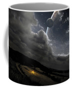 A Campfire In A Peaceful Night Coffee Mug