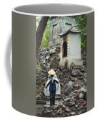 A Caretaker Wearing A Traditional Non Coffee Mug