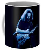 A Cat Under The Blue Stars Coffee Mug