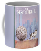 A Cat With A Ball Of String For A Tail Coffee Mug