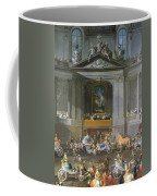 A Cavalcade In The Winter Riding School Of The Vienna Hof To Celebrate The Defeat Of The French Coffee Mug