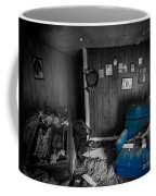A Chair In Blue Coffee Mug