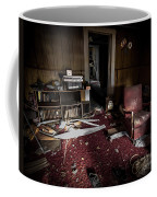 A Chair In Red Coffee Mug