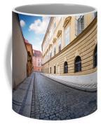 A Charming Street In Prague Coffee Mug