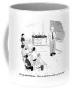 A Chemistry Teacher Addresses His Students Coffee Mug