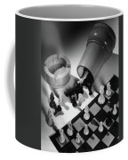 A Chess Set Coffee Mug