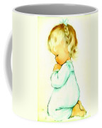 A Childs Prayer Coffee Mug by Charlotte Byj