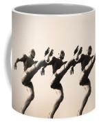 A Chorus Line Coffee Mug by Bill Cannon