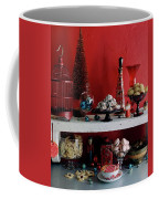 A Christmas Display Coffee Mug