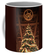 A Christmas Tree At Union Station Coffee Mug