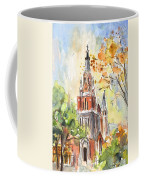 A Church In Our Street In Budapest Coffee Mug