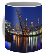 A Cleveland Ohio Evening On The River Coffee Mug