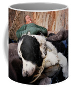 A Climber And Her Dog Lay Coffee Mug