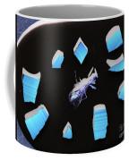 A Clockwork Blue Coffee Mug