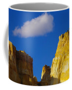 A Cloud Over Orange Rock Coffee Mug
