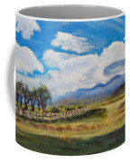 A Cloudy Day On Antelope Island Coffee Mug