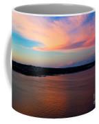 A Cloudy Stork Coffee Mug